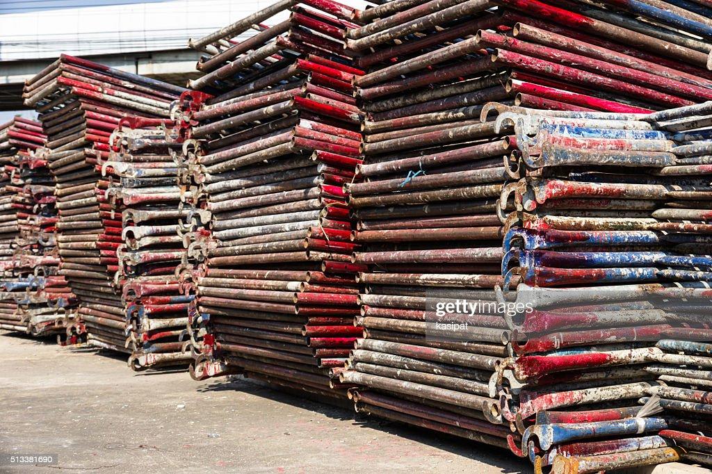 Storage Scaffolding : Stock Photo