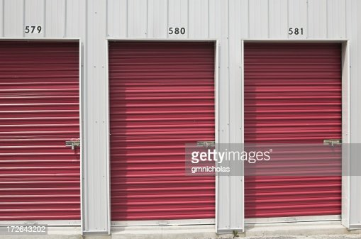 storage unit doors