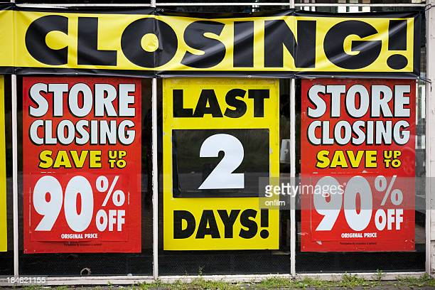 Store closing, last 2 days