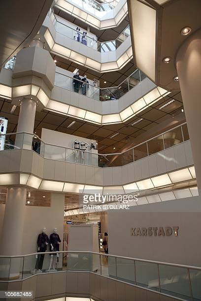 A store of troubled German retailer Karstadt is pictured in the western German city of Duesseldorf on September 3 2010 The future of Karstadt...