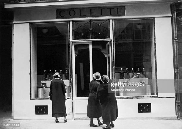 Storefront Of Colette 6 Rue De Miromesnil In 1932 In Paris