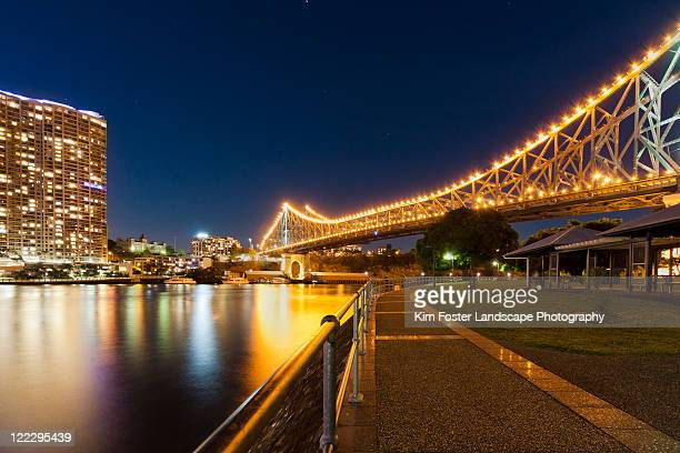 Storey Bridge at night