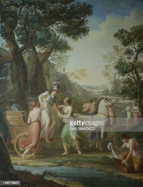 Stories of Diana by Luigi Catani Florence Palazzo Pitti Galleria Palatina