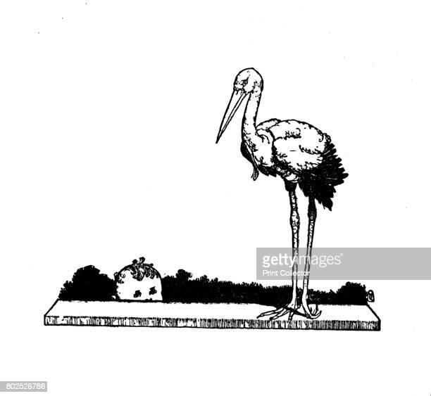 Stork Stork LongLegged Stork c1930 An illustration from 'The Storks' by Hans Christian Andersen From Hans Andersen's Fairy Tales by Hans Andersen...