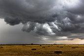 Storm after harvest