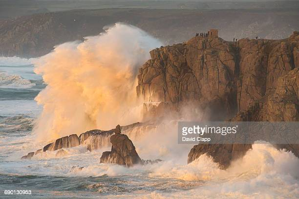 Storm at Sennen Cove, Lands End, Cornwall