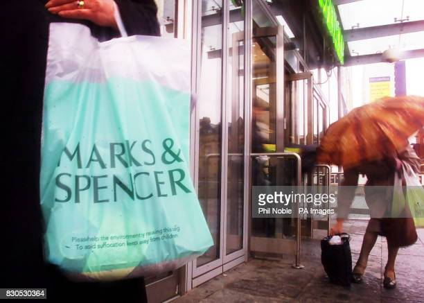 Storm clouds continue to gather over Marks and Spencer after the troubled retailer showed it had suffered an awful Christmas trading period with...