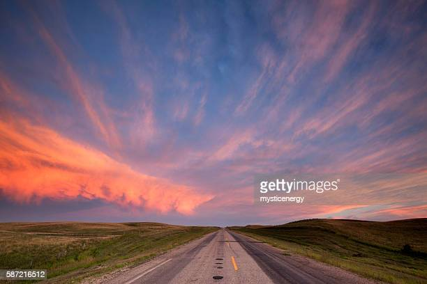 Storm Clouds Over The Prairies Saskatchewan