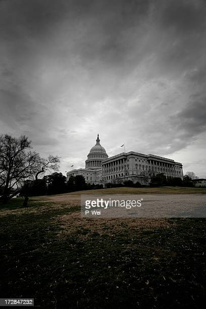 Storm Clouds Over Washington