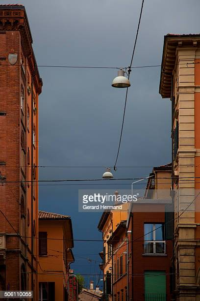 Storm coming in Bologna