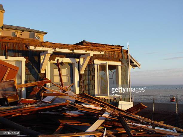 Storm Damaged Home