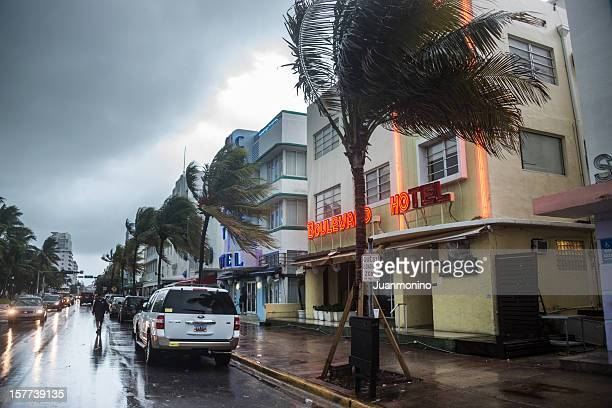 Storm in South Beach