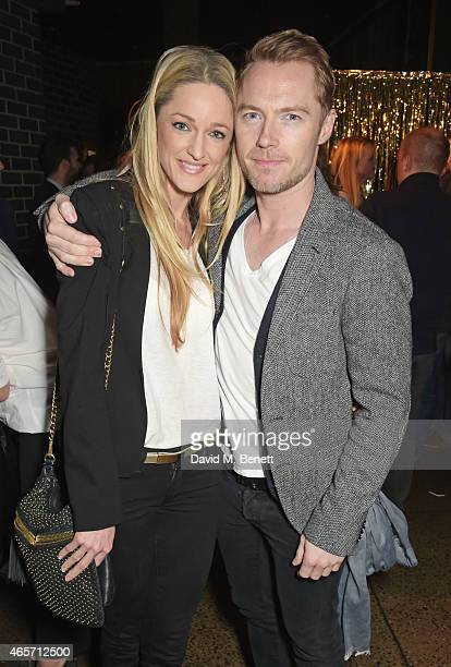 Storm Keating and Ronan Keating attend a party hosted by Instagram's Kevin Systrom and Jamie Oliver This is their second annual private party taking...