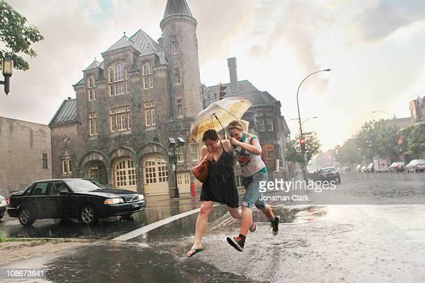 Storm on Street