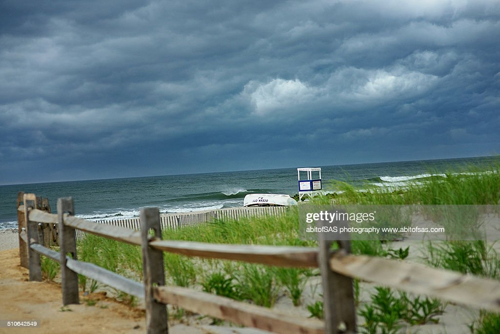 Storm rolling in over Ocean City