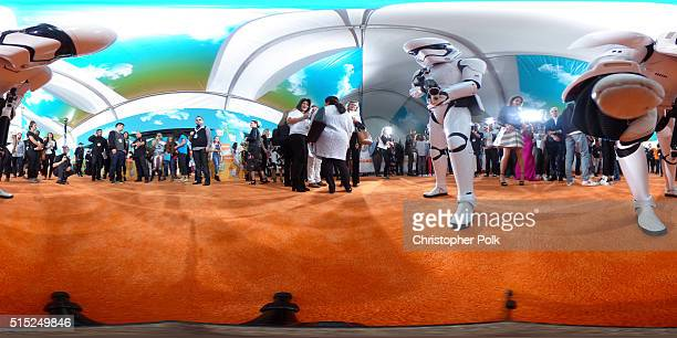 Storm Troopers attend Nickelodeon's 2016 Kids' Choice Awards at The Forum on March 12 2016 in Inglewood California