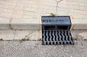 Storm water drain, Valencia region, Spain