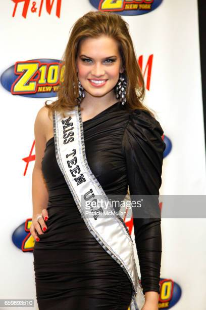 Stormi Henley attends Z100 JINGLE BALL 2009 at Madison Square Garden on December 11 2009 in New York City