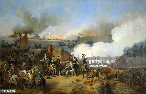 Storming of the Swedish Nöteburg Fortress by Russian Troops 11 October 1702 During the Great Northern War a Russian army commanded by Peter the Great...