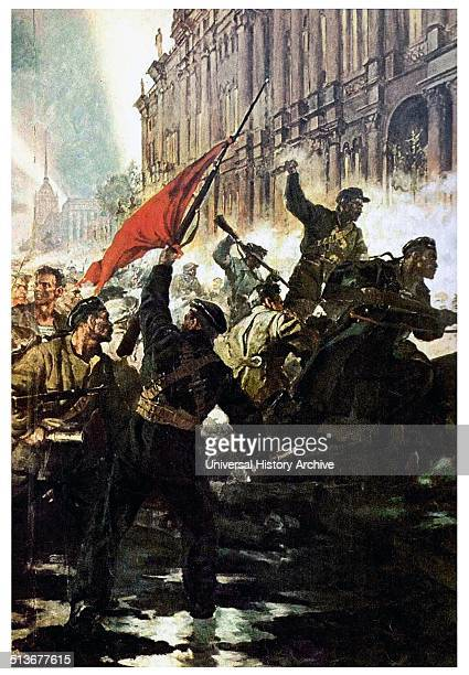 Storming of the Winter Palace in the Russian Revolution