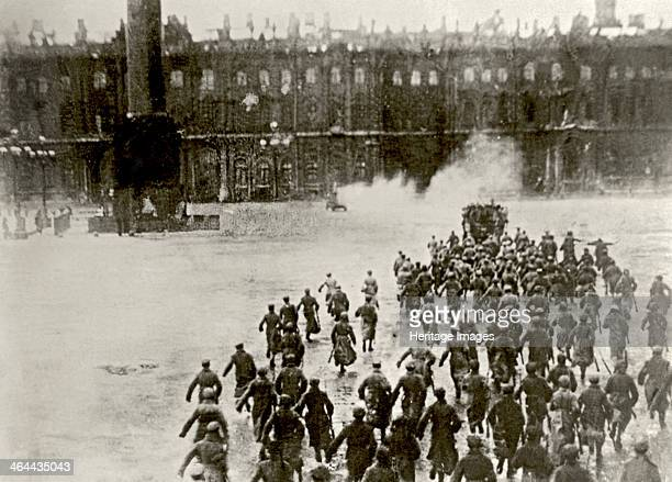 Storming the Winter Palace on 25th October 1917