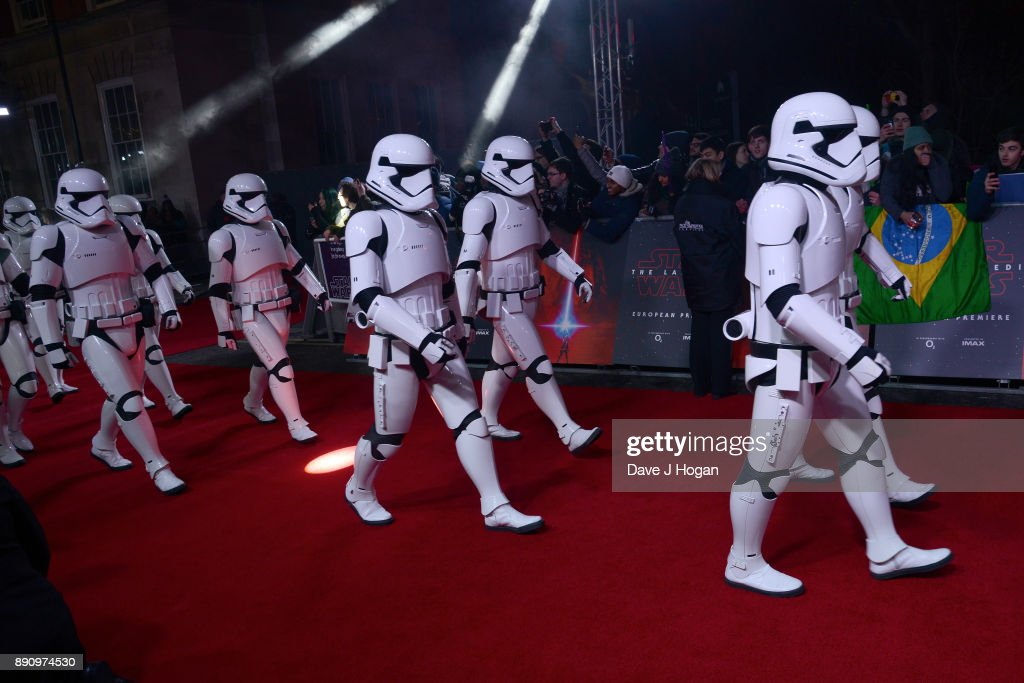 'Star Wars: The Last Jedi' European Premiere - VIP Arrivals