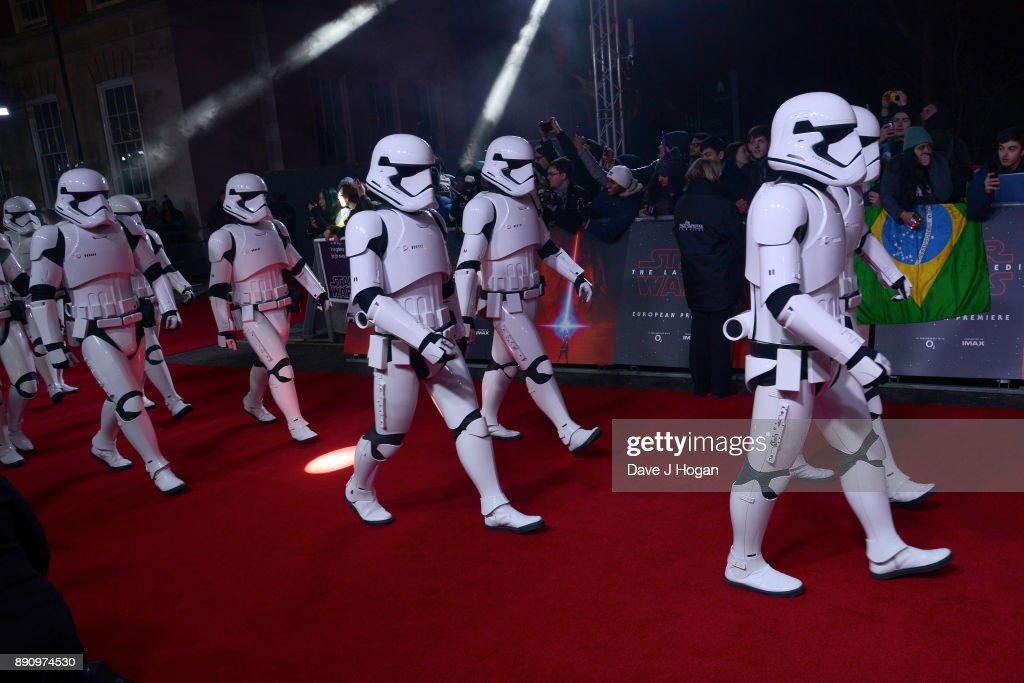 'Star Wars: The Last Jedi' European Premiere - VIP Arrivals