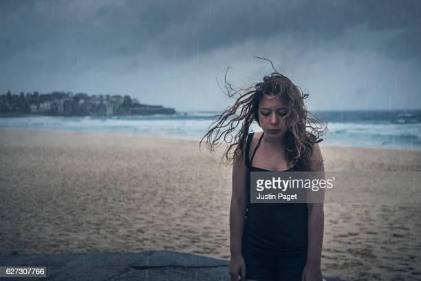 Stormy Day on Bondi Beach, Sydney
