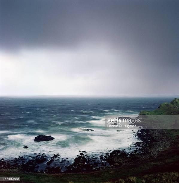 Stormy Northern Ireland Coast
