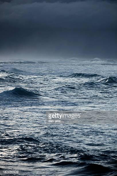 Stürmischen Ozean