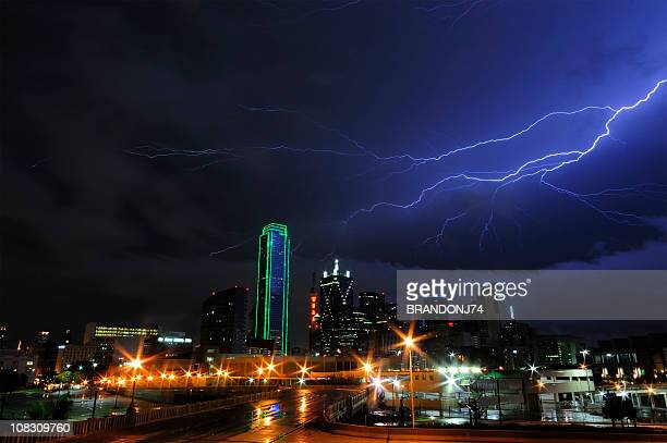 Stormy Skies over Dallas,Texas