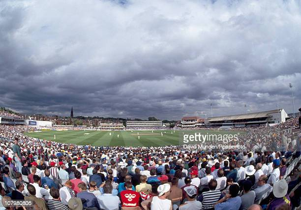 Stormy skies over Headingley during the 4th Test match between England and Australia in Leeds 22nd July 1993 Australia won by an innings and 148 runs...