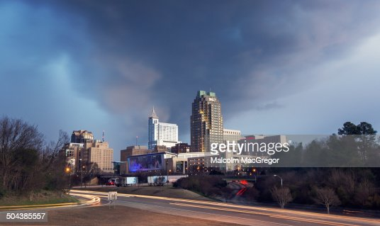 Stormy Skies over Raleigh