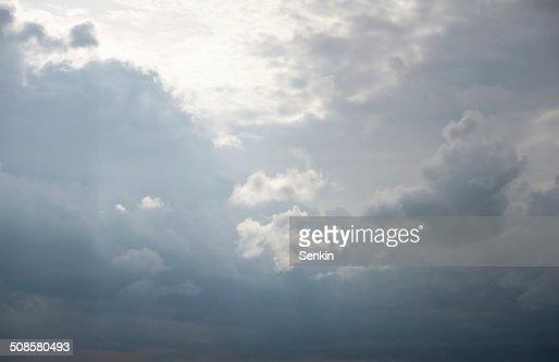 stormy cielo : Foto stock