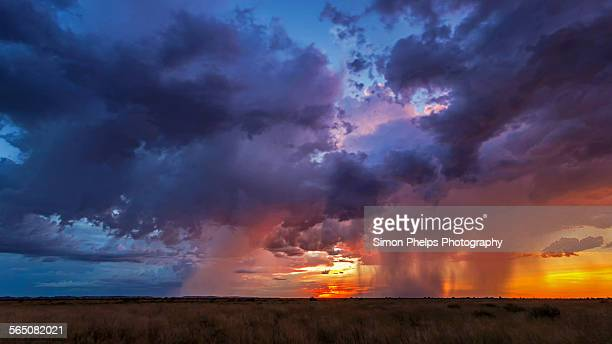 Stormy Sunset in the Pilbara