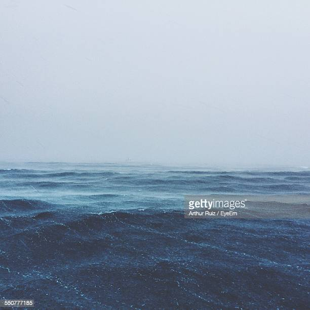 Stormy Waves In Sea