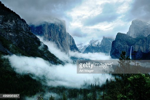 Stormy Yosemite Valley