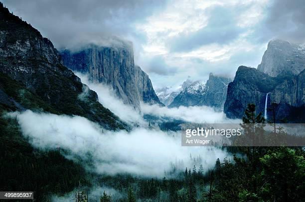 Stürmischen Yosemite Valley