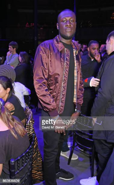 Stormzy attends The Q Awards 2017 in association with Absolute Radio at The Roundhouse on October 18 2017 in London England