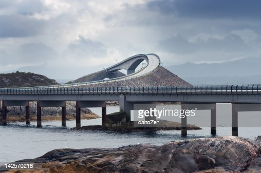 Storseisundbrua bridge, Atlantic Road, Norway
