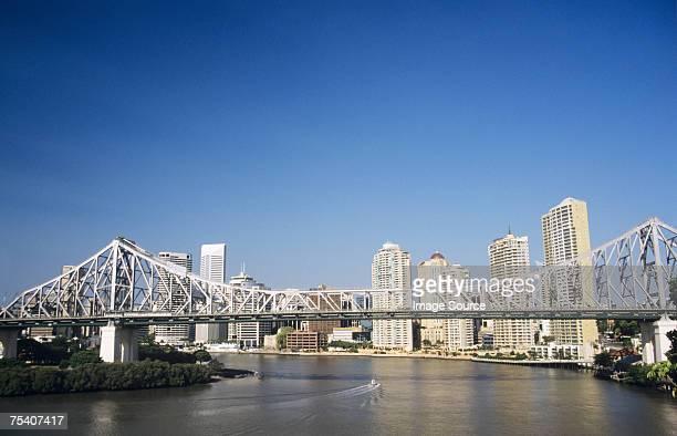 Story bridge and brisbane river