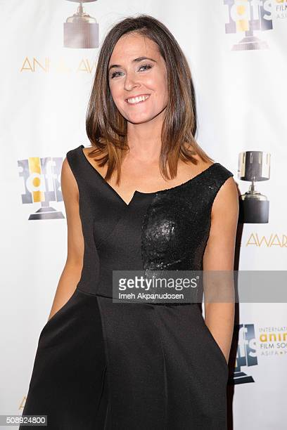 Storyboard artist Heidi Jo Gilbert attends the 43rd Annual Annie Awards at Royce Hall on the UCLA Campus on February 6 2016 in Westwood California