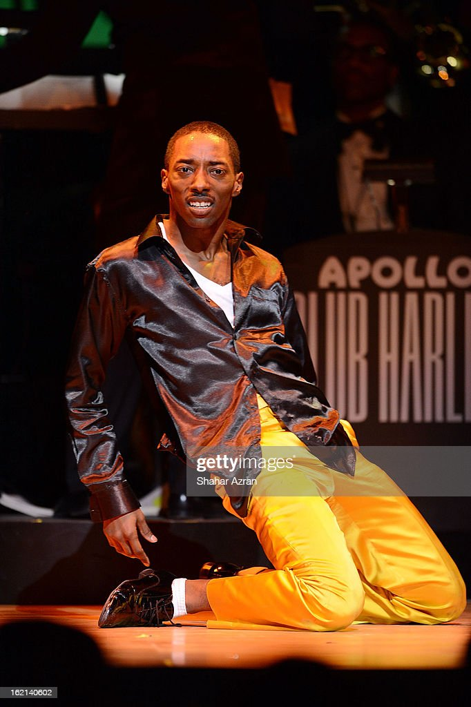 Storyboard P performs during Apollo Club Harlem at The Apollo Theater on February 18, 2013 in New York City.