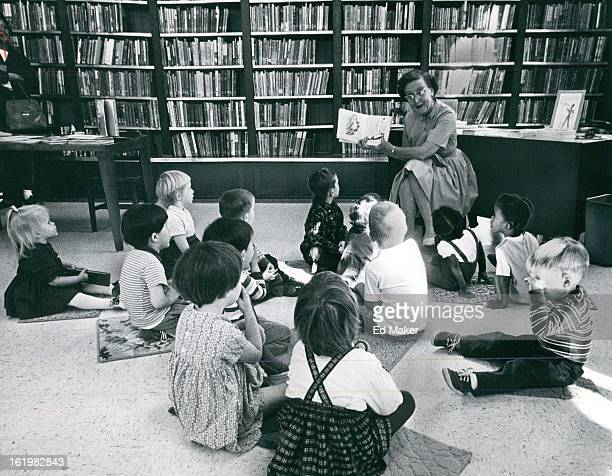 OCT 25 1966 OCT 26 1966 OCT 30 1966 Storyteller reads to young audience Editors agree when interest is aroused desire to know increases