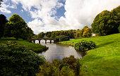 Bridge at Stourhead in Wiltshire