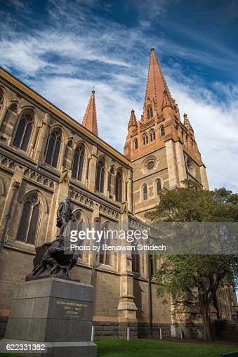 St.Paul's Cathedral in Melbourne, Australia