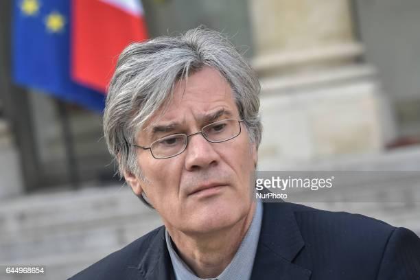 Stéphane Le Foll in Paris France on February 24 2017