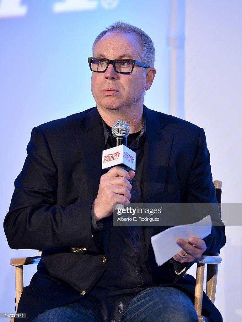 Stradella Road CEO Gordon Paddison speaks during Variety's Venture Capital & New Media Summit in association with International ESQ at Sofitel Hotel on June 27, 2012 in Los Angeles, California.
