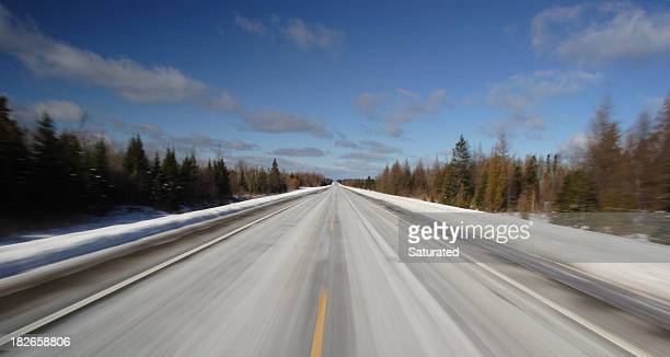 Straight Road at High Speed