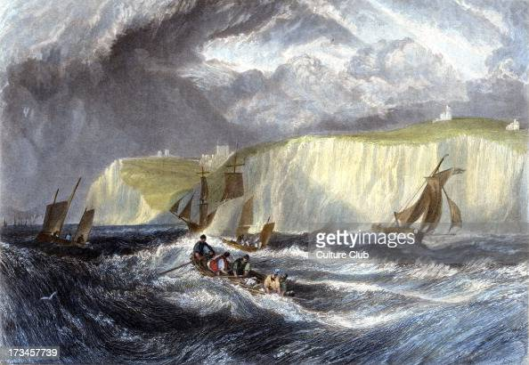 'Straits of Dover' by JMW Turner Engarved by William Miller 1828
